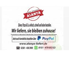 Alanya Döner Pizza Haus Freckenhorst