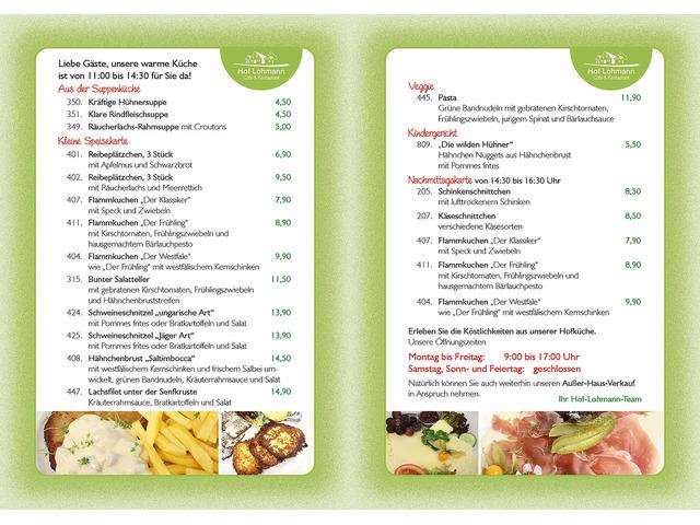 Café & Restaurant Hof Lohmann - Naturland